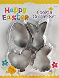 ITP G24042 Easter Steel Cookie Cutters Mould Cake Biscuit Baking Tool Decoration Set 4 Pack 25cm x 19cm x 3cm