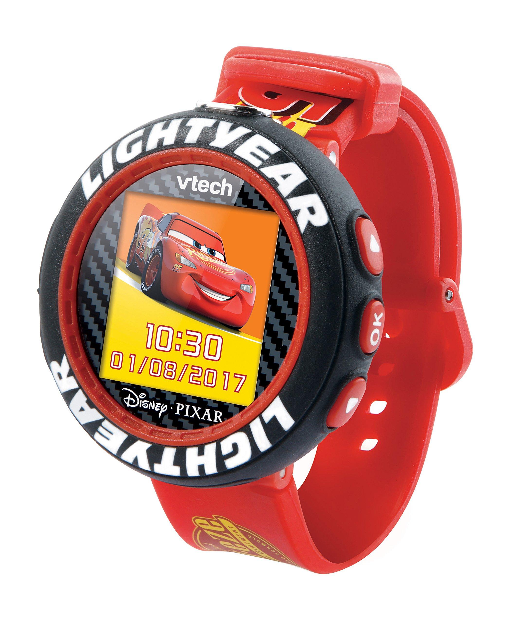 VTech Cars 3 – Electrónica para niños (Kids smartwatch, Negro,