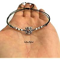 Braccialetto GANESH ELEPHANT GOD SHIVA INDIA HINDU KRISHNA GANESHA BUDDHA perle tibetane. Creazione personalizzata di…