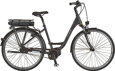 Prophete Damen E-Bike Navigator Premium 28 Zoll, RH 50 Elektrofahrrad, dunkelblau matt, M