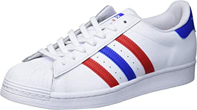 adidas Originals Superstar, Sneaker Uomo, Nero, Verde, Arancione, 50 EU