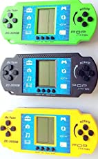 Akki World Brick Video Games Handheld Console (Assorted) - Pack of 2