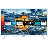 Telefunken XF32J511-W 32 inch televisie (Smart TV incl. Prime Video/Netflix/YouTube, Full HD, Works with Alexa, Triple-Tuner)