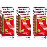 tesafilm plakband, transparant, office-box met 8 rollen 33m:19mm 3 Boxen