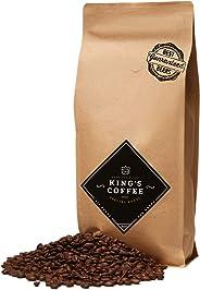 King's Coffee – Spezielle Espresso Röstung – Feinster Arabica Robusta Blend – Kaffee-Bohnen für Vollautomaten – 1KG Espresso-