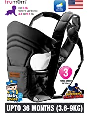 Trumom (USA) 3 in1 Baby Carrier for Kids 0 to 36 Months Old (Upto 12 Kg)