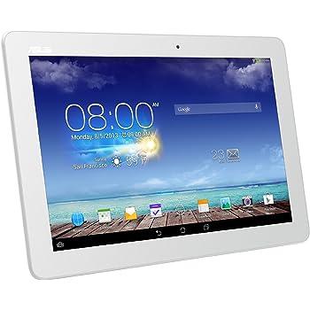 "Asus ME102A-1A033A MeMO Pad 10, 10"" IPS, 1280x800, Quadcore 1.6 GHz, SSD 16 GB, Doppia Fotocamera, Android JellyBean 4.2, Supporto Miracast, Antenna GPS Integrata, colore: Bianco"