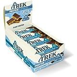 TREK High Protein Flapjack Cocoa Coconut, 50 g - Gluten Free Bars – Healthy Snack Bars – Plant Based Protein - Vegan…