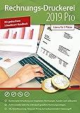 Rechnungsdruckerei 2019 PRO - Rechnungen, Lieferscheine, Angebote, Mahnungen Artikel verwalten für Windows 10 / 8.1 / 7