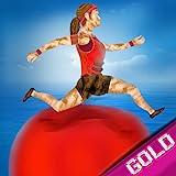 verano juegos divertidos: curso de agua obstáculo concursante tv - gold edition