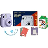Instax Mini 11 Mega Pack (Lilac Purple)