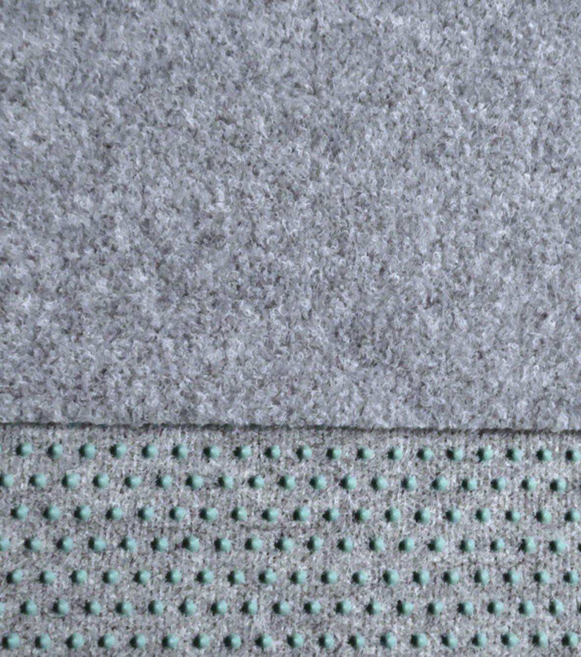 Innovativ Kunstrasen, Rasenteppich,150 / 250 cm Breite, hellgrau (450 x 150  DH33