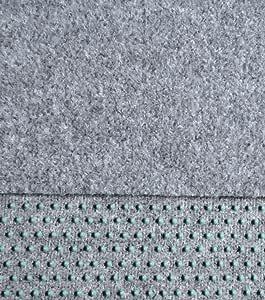 100 x 400 cm Rasenteppich Kunstrasen 400 cm Breite Farbe beige-braun