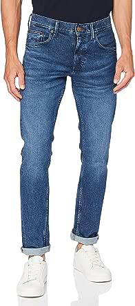 Tommy Hilfiger Straight Denton STR Bowdie Blue Pantaloni Uomo