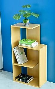 YATAI 3 Tier Storage Organizer Wooden Shelf, Flowers Pot Book Shelf, Home Indoor Decoration Shelf, Flowers Stands - Plants Rack - Storage Cabinet Organizer - Bookcase