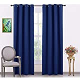 ARMENIA HAGUE Italian Silk 100% Blackout Curtain Solid Pack of 2 Piece with 3 Layers Weaving Technology Thermal Insulated Dra