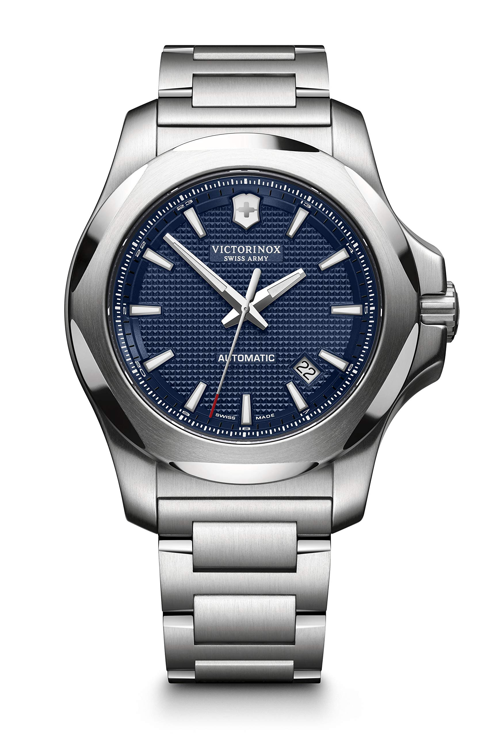 Victorinox Men's I.N.O.X. Mechanical – Swiss Made Stainless Steel Automatic Watch 241835