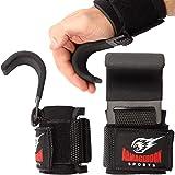 Premium Polshaken Hijsbanden met gewatteerde polswraps voor maximale grip ondersteuning - Handschoenen en pads alternatief in