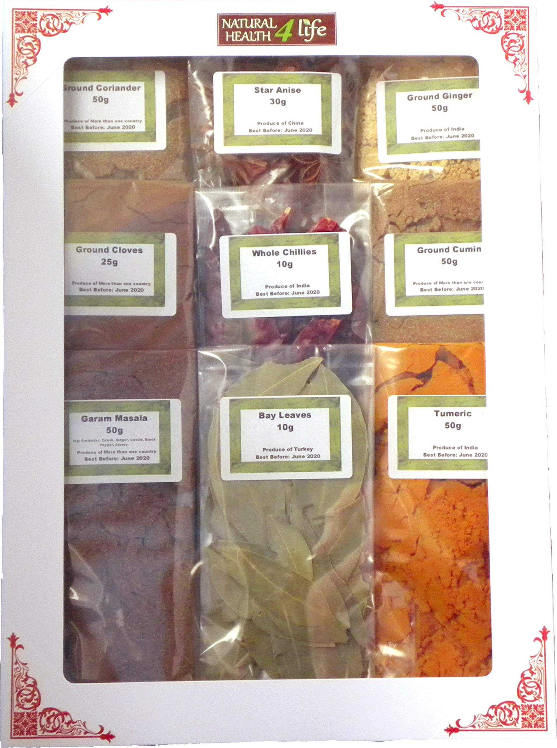 Authentic Indian Spice Gift Set Curry Spice KIT - Makes UP to 24 CURRIES - Quality Spices with Free Post 1