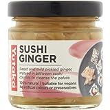 Yutaka 100% natural Sushi Ginger 120g - Pack of 4