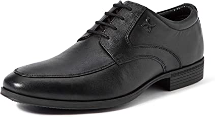 Extacy By Red Chief EXT119 Men's Black Formal Leather Shoes