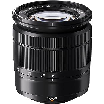 Fujifilm Fujinon 16-50 mm f:3.5-5.6 XC OIS - Objetivo para Fujifilm X (Diámetro: 65.2mm), negro