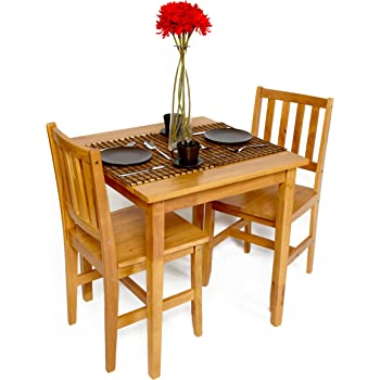 Bistro Cafe Dining Kitchen Table And Two Chair Set Home Assembly