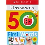 Write & Wipe Flashcards First 50 Words (Scholastic Early Learners)