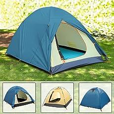 Ancheer Campingzelt 2 Personen Wasserdicht Outdoor Zelt leicht Kuppelzelt 210 x 150 x 110cm