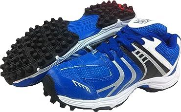 Port Men's synthetic Blue rezzer cricket shoes(Size 11 IND/UK)