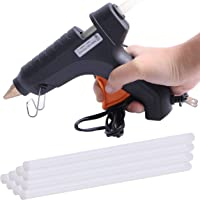 Unigear 40 Watt Plastic Basic Glue Gun with 5 Sticks (Black)