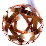 Pentasfera (genesa 6 cerchi), Purificatore energia, Dispositivo orgonico 16 cm diametro, Rame