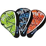 Donic-schildpad tafeltennis racket cover klassiek, racket hoes voor een racket, extra balvak voor 3 ballen, trendy design, 81