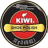 طلاء الأحذية الأسود من كيوي، 32 مل، 1 علبة معدنية