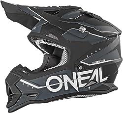 O'Neal 2Series Kinder MX Helm Slingshot Schwarz Moto Cross Enduro Quad Offroad DH, 0200-86