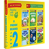 All set to Read- A Phonic Reader- Level 2- PHONICS READERS- 6 books in a Box