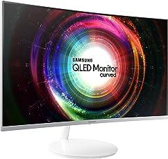 Samsung Curved Monitor C32H711 ( 32 Zoll ) Monitor (HDMI, 4ms Reaktionszeit, 60 Hz, WQHD) weiß