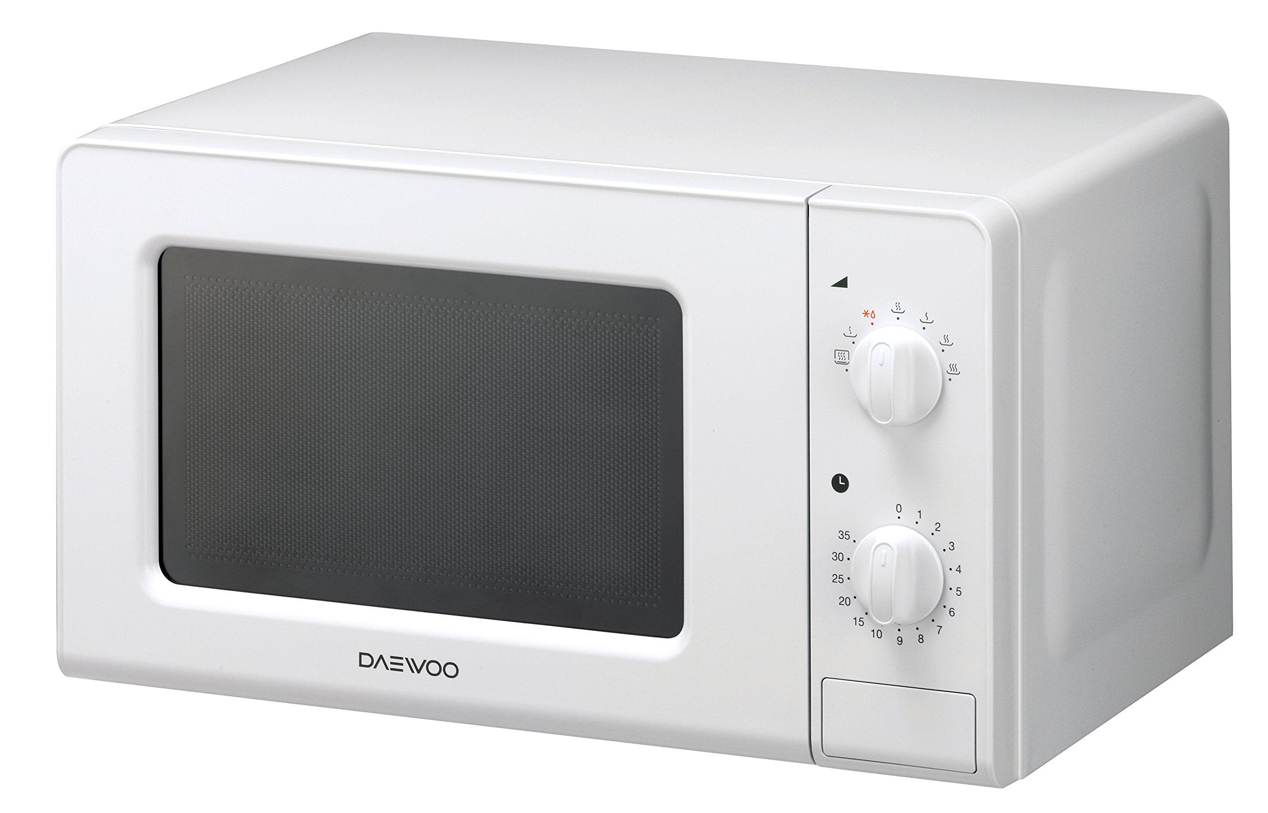 Daewoo Kor 6f07 Four Micro Ondes Manuel Sans Grill Blanc 20