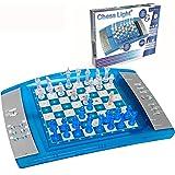 Lexibook-LCG3000 ChessLight, Jeu d'échecs électronique avec Clavier Tactile et Effets Lumineux et sonores, 32 pièces, 64 Nive