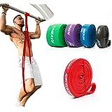 ActiveVikings® pull-up fitnessbanden | perfect voor spieropbouw en Crossfit Freeletics Calisthenics | fitnessband optrekbande