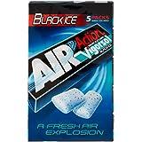 Vigorsol Air Action Black Ice, Gomma da Masticare, Liquirizia, 4 confezioni da 5 stick [20 stick]