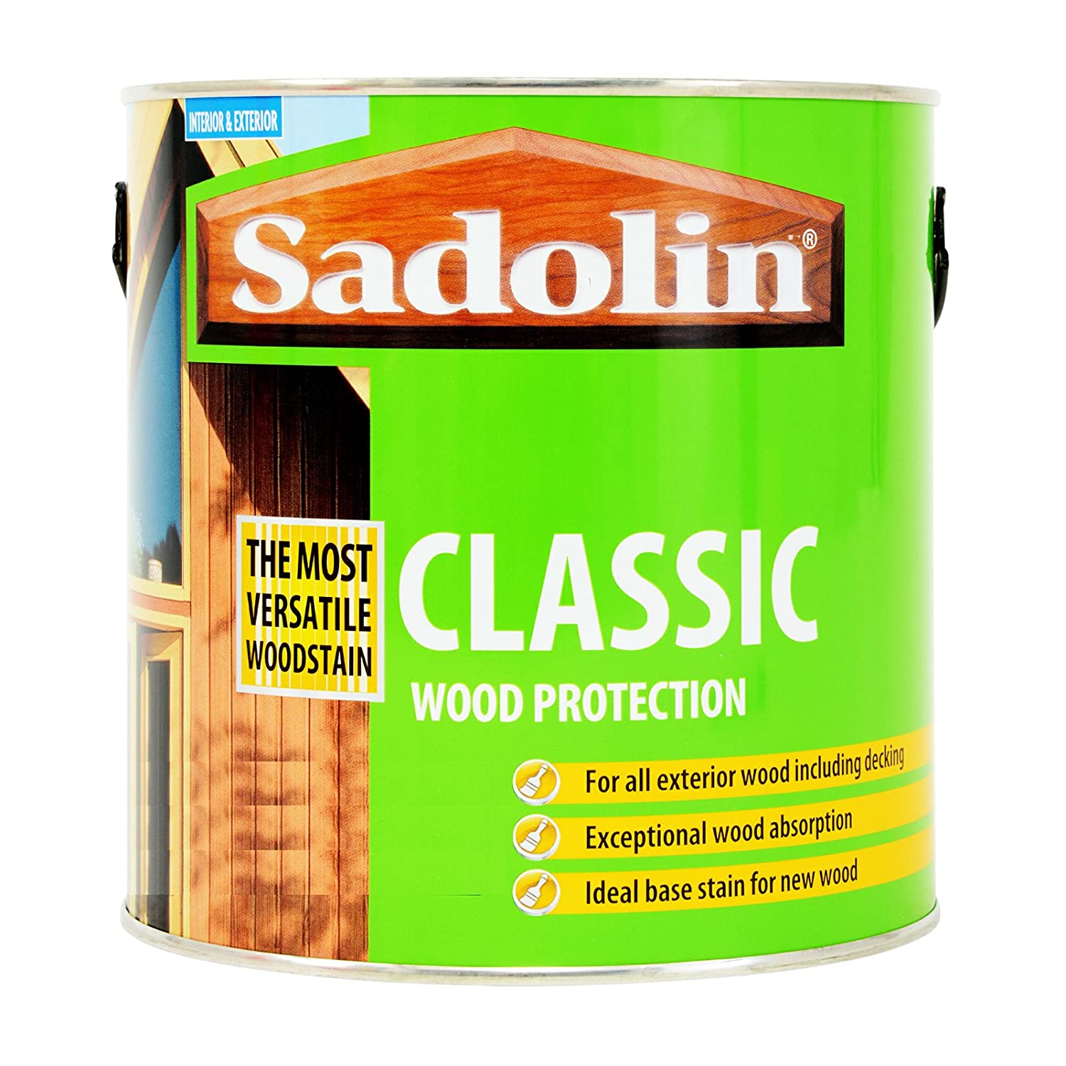 Sadolin classic wood protection light oak 25 litre amazon sadolin classic wood protection light oak 25 litre amazon diy tools baanklon Image collections