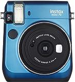 Fujifilm Instax Mini 70 Instant Film Camera (Blue)