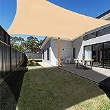 Ankuka Voile d'ombrage Rectangulaire 4x3, Auvent Imperméable UV Protection pour Jardin Terrasse Extérieur Patio Piscine avec