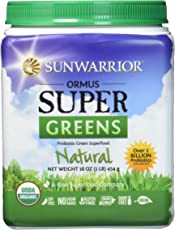 Sunwarrior Ormus Super Greens (90 serv) Natural, 450 g