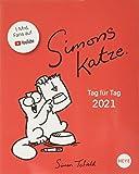 Simons Katze Tagesabreißkalender 2021 - Tischkalender mit perforierten Seiten - zum Aufstellen oder Aufhängen - Format…