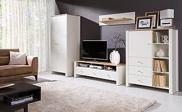 Home Direct Berg, Elegantes Wohnzimmer, Schöne Wohnzimmerschränke,  Wohnzimmermöbel, Regal, Fernsehtisch,