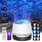 ARORY LED Projektor Sternenhimmel Lampe, Music Projektor Starry Wasserwellen Night Light Projector mit Bluetooth Lautsprecher