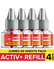 Goodknight Power Activ+, Mosquito Repellent - 60 Nights Jumbo Refill (Pack of 4)