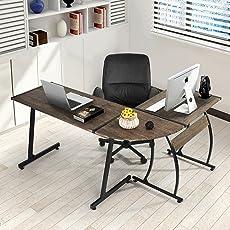 Fanilife Moderner Computer Schreibtisch, L Förmiger Fanilife Schreibtisch, Computertisch  Für
